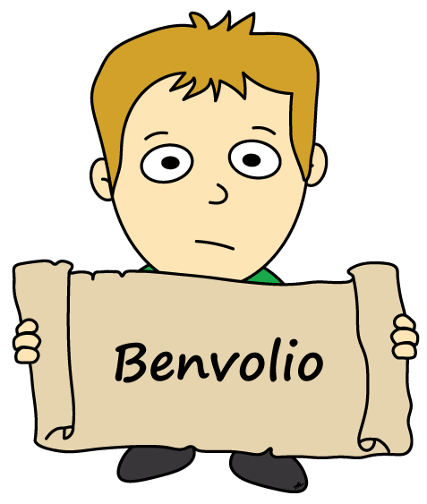 Benvolio Cartoon - Romeo and Juliet - Low Res - Poetry Essay