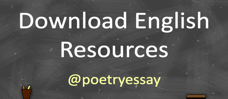 Download English Resources - Poetry Essay