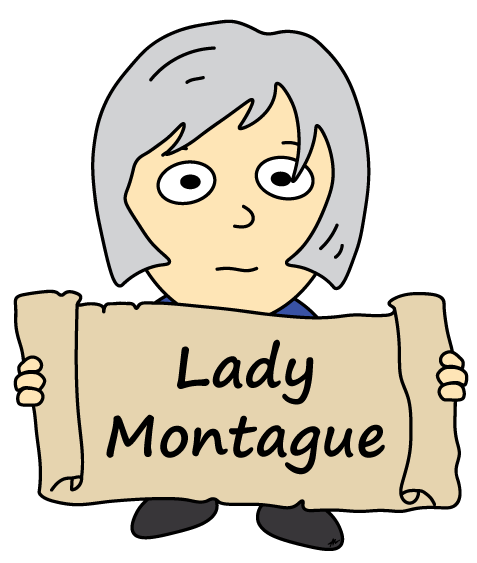 Lady Montague Cartoon - Romeo and Juliet - Low Res - Poetry Essay