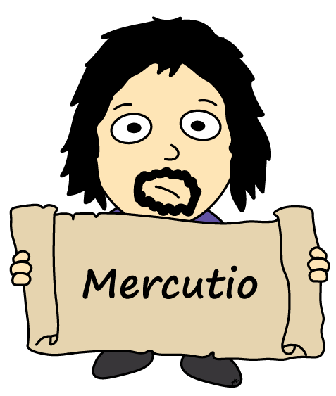 Mercutio Cartoon - Romeo and Juliet - Low Res - Poetry Essay